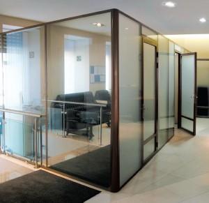 Офисные перегородки ALUTECH