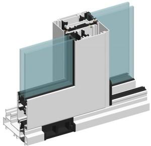 Раздвижные окна Alutech ALT CS106